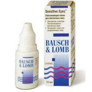 Sensitive Eyes капли 15 ml, B&L